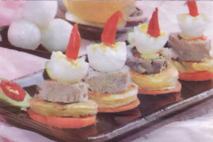 Resep Lamp Canape