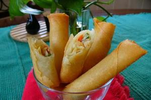 Resep Lumpia Sayuran Udang
