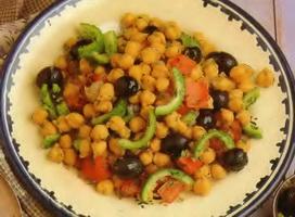 Resep Salad Chickpea Dan Zaitun