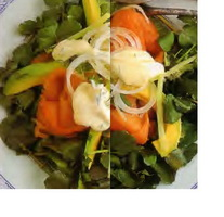 Resep Salad Ikan Salem Asap