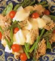 Resep Salad Tuna Mayones Bawang Putih