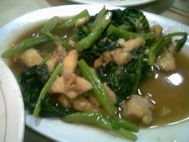 Resep Tumis Ayam Kangkung