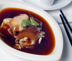 Resep Abalone And Duck Liver Combination
