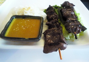 Resep Grilled Lamb Satay With Sweet Soya Sauce