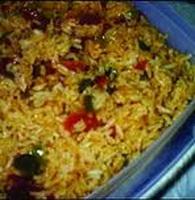 resep-nasi-spanyol-dengan-jamur-dan-paprika