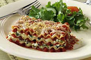 Resep Spinach Lasagna
