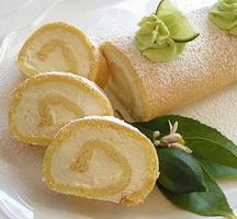 Resep Vanilla Roll Cake