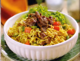 Resep Nasi Goreng Kari Kambing