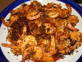 Resep Butter Prawn Malaysian Style