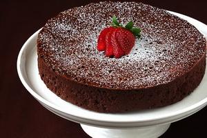 Resep Chocolate Gold Cake