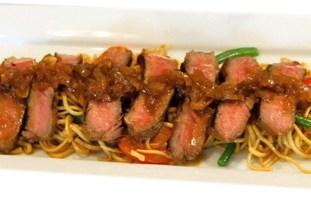 resep-beef-steak-oriental-mie