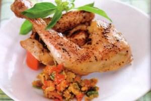 Resep Pecak Ayam Bakar