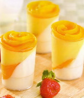 Resep Puding Peach