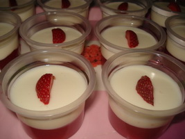 Resep Puding Strawberry