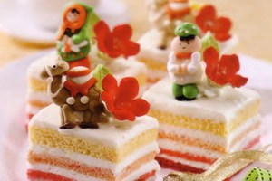 Resep Cheerful Slice Cake