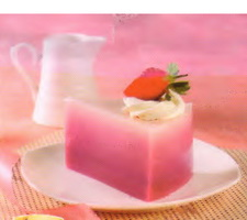 Resep Blueberry Ombre Puding