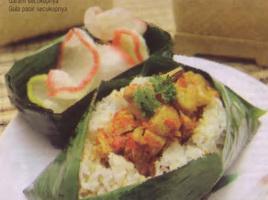 Resep Nasi Bakar Ayam Jamur Rica-Rica