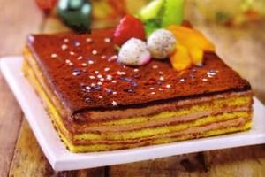 Resep Simple Opera Cake