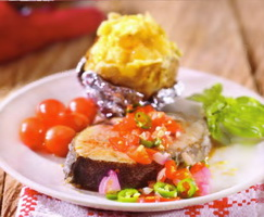 Resep Steak Gindara Dabu-Dabu
