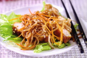 Resep Soba & Chicken Salad