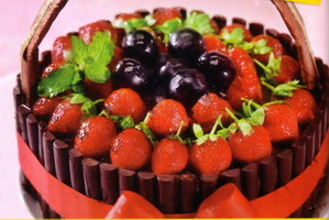 Resep Strawberry Basket Tart