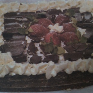 Resep Choco Ombre Cake