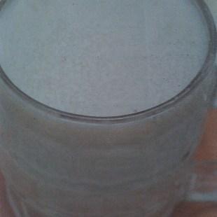 Resep Hot Milk Vanilla Ginger