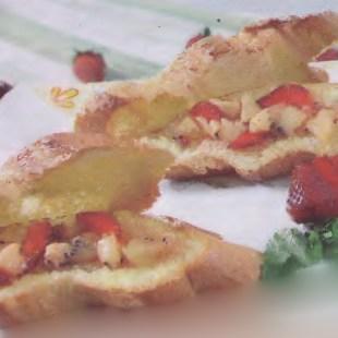 Resep Gold Kiwi Sandwich