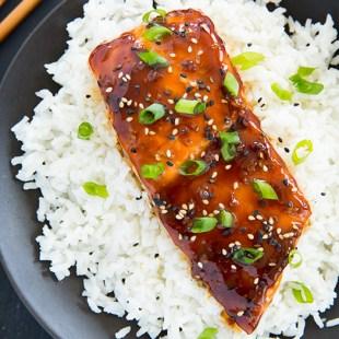 Resep Salmon Teriyaki Don