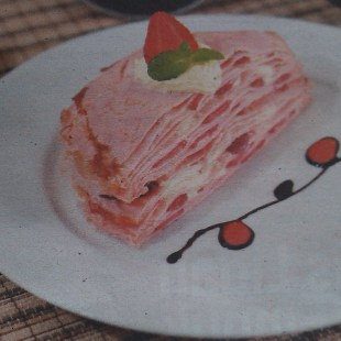 Resep Strawberry Mille Crepes