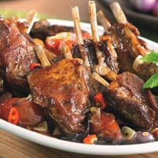 Resep Iga Panggang Saus Barbeque