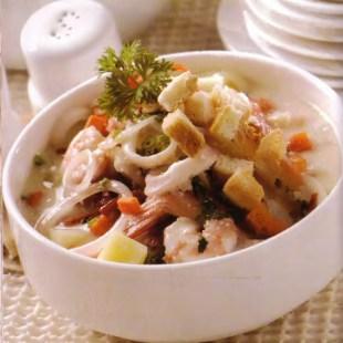 Resep Seafood Chowder