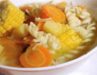 resep-sup-jagung-makaroni