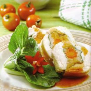 Resep Siomay Ayam Gulung Saus Barbeque