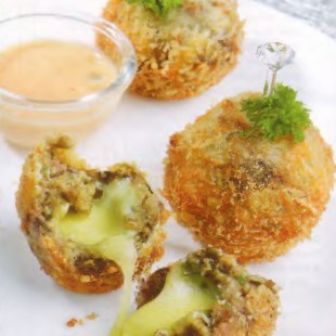 Resep Eggplant Cheese Ball