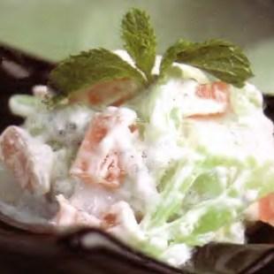 Resep Selada Agar-Agar Yoghurt