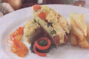 Resep Frittata Telur Panggang Siram Saus Nanas