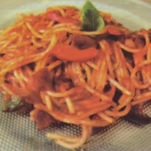 Resep Spaghetti Reggae