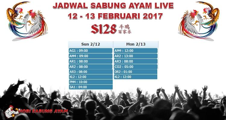 Jadwal-Laga-Sabung-Ayam-Streaming-Tanggal-12-13-Februari-2017