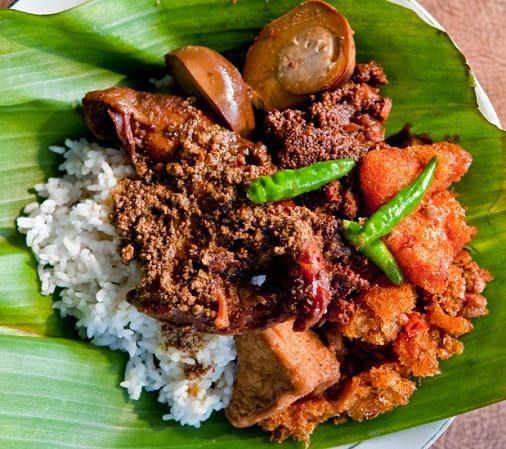 Makanan khas kota Yogyakarta yaitu gudeg | Image 2