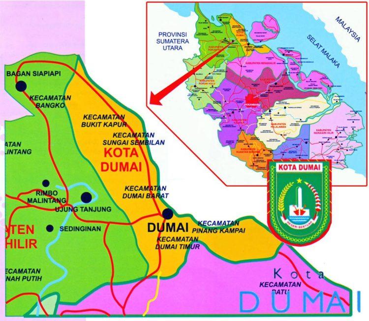 Peta Kota Dumai