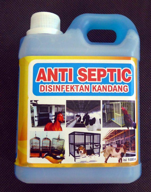 Jenis Antiseptic untuk Kandang Ternak