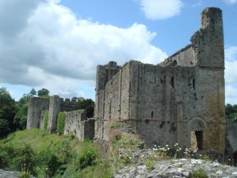 castle chepstow medieval wales castles wikipedia history facts tower stone keep 1066 built william norman file pic broadsheet britain library