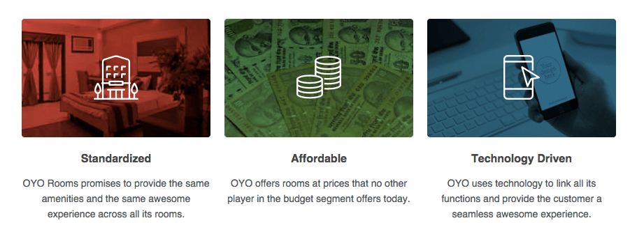 oyo rooms standardisation affordable technology driven