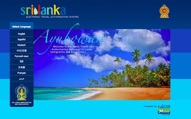sri lanka visa on arrival procedure