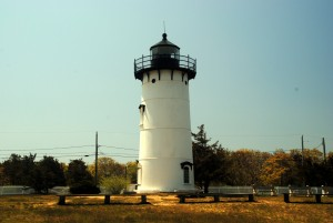"Light houses are definitely a prominent tourist attraction here on Martha's Vineyard. So, being tourist, we got right out there the first weekend looking at these things. ""Yup, there's another light house."""