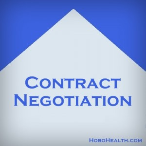 travel PT contract negotiation