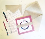 Custom Wedding Invitations by Love Letters Studio
