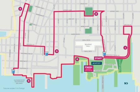 hoboken-girl-blog-newport-10k-map