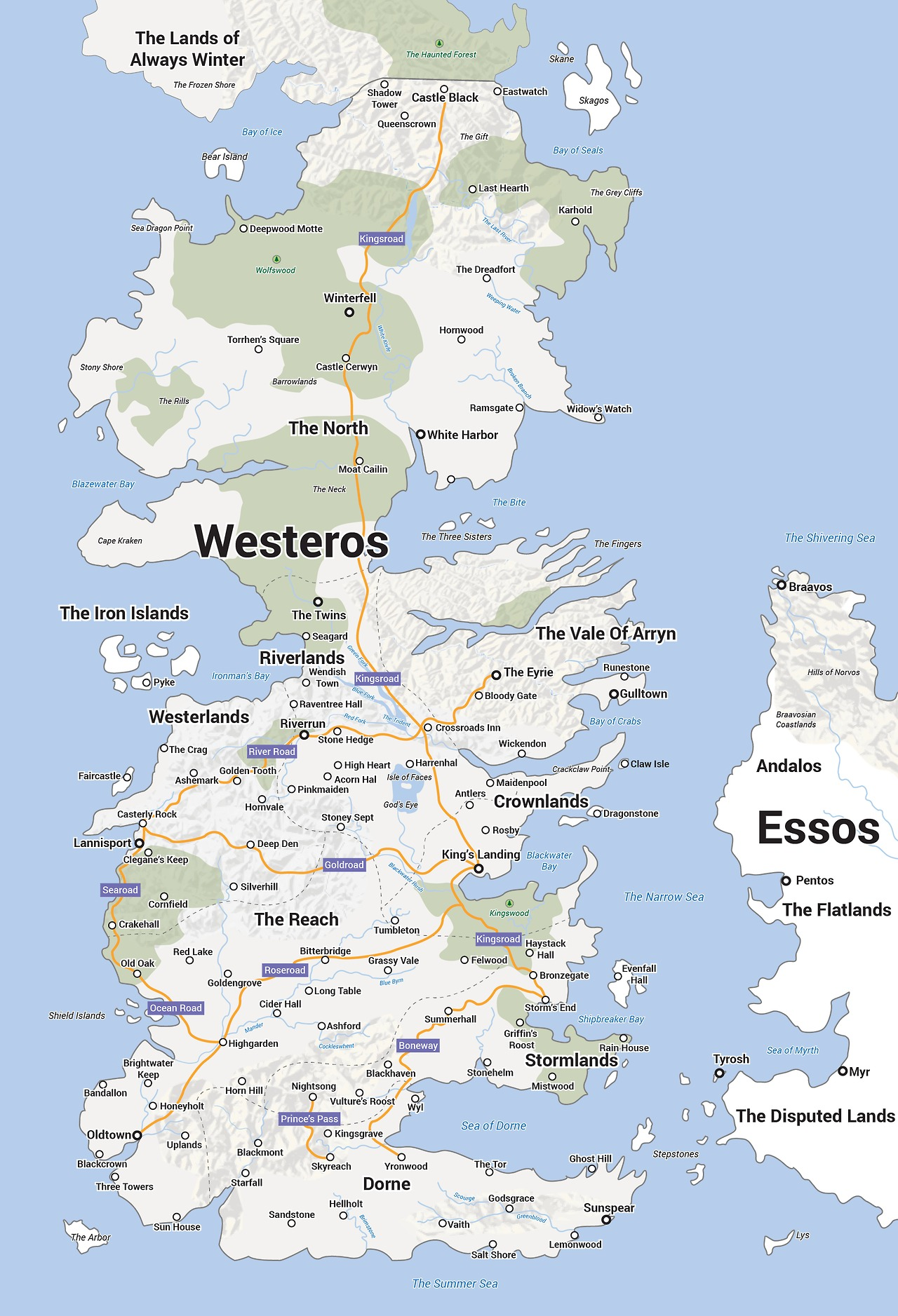 """Game Of Thrones Map Pdf : thrones, Thrones, """"Beyond, Wall"""":, Worst., Plan., Ever., HoboTrashcan"""